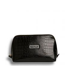 Otis Batterbee The Beauty Makeup Bag L Black Croc