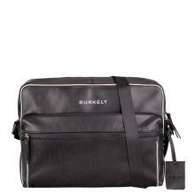 """Burkely Lucent Lane Messenger Bag 14"""" Black"""
