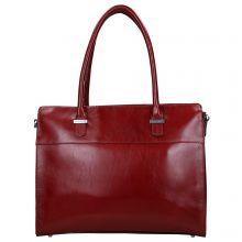 Claudio Ferrici Classico Businessbag Red