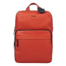"""Burkely On The Move Bold Bobby Backpack 15.6"""" Red"""