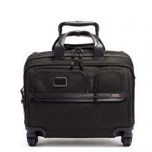Tumi Alpha 3 DLX 4 Wheel Laptop Briefcase Black