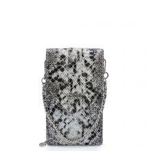 MOSZ Phonebag Schoudertas Python Black Grey