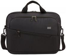 """Case Logic Propel Attaché Laptop Bag 15.6"""" Black"""