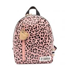 Zebra Trends Kinder Rugzak S Zebra Pink Spot