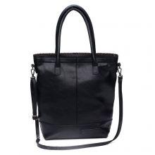 Zebra Trends Natural Bag Kartel Rits Kunstleer Black