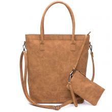 Zebra Trends Natural Bag Kartel Rits Camel