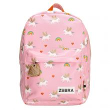 Zebra Kinder Rugzak M Unicorn Love