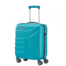 Travelite Vector 4 Wheel Trolley S Turquoise