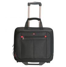 "Enrico Benetti Cornell Laptop Trolley 17"" Black"
