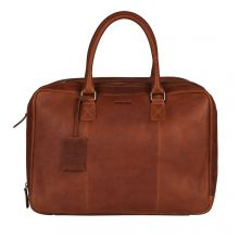 """Burkely Antique Avery Worker 15.6"""" Cognac"""