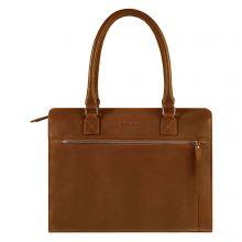 "Burkely Antique Avery Handbag M 14"" Cognac"