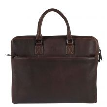 """Burkely Antique Avery Laptopbag 17"""" Brown"""
