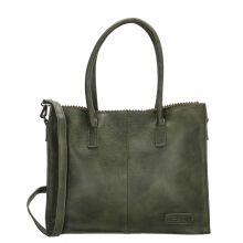 Zebra Trends Natural Bag Kartel Lisa Dark Green