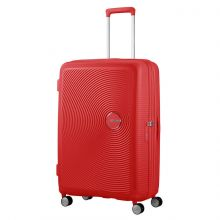 American Tourister Soundbox Spinner 77 Exp. Coral Red