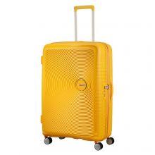 American Tourister Soundbox Spinner 77 Exp. Golden Yellow