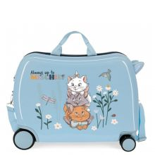 Disney Rolling Suitcase 4 Wheels Before The Bloom Cat