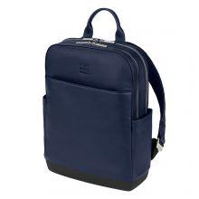 Moleskine Classic Leather Pro Backpack Sapphire Blue