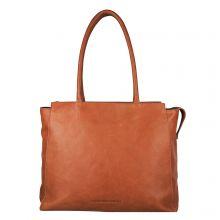 "Cowboysbag Laptop Bag Evi 15.6"" Schoudertas Cognac 2218"