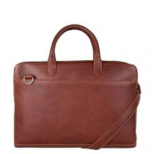 """Cowboysbag Laptop Bag Laide 15.6"""" Cognac"""
