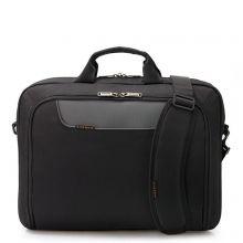 "Everki Advance Laptop Bag Briefcase 17.3"" Black"