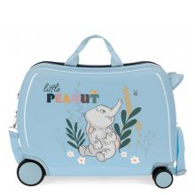 Disney Rolling Suitcase 4 Wheels Before The Bloom Elephant