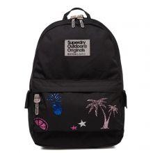 Superdry Montana Glitter Backpack Black