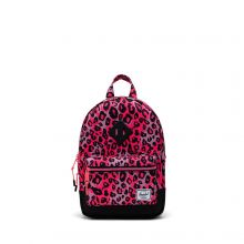 Herschel Heritage Kids Rugzak Cheetah Camo Neon Pink Black