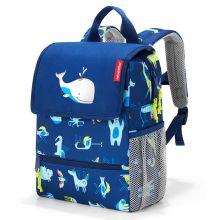 Reisenthel Backpack Kids ABC Friends Blue