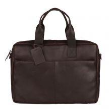 """Burkely Vintage River Worker 15.6"""" Laptop Bag Brown"""