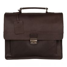 Burkely Vintage Scott Briefcase Brown