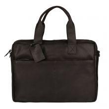 """Burkely Vintage River Worker 15.6"""" Laptop Bag Black"""