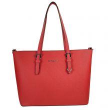 Flora & Co Shoulder Bag Saffiano Red