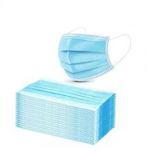 Mondmasker Hypoallergeen 3 Laags 50 stuks Blauw/ Wit