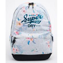 Superdry Montana Original Backpack Grey Marl Floral