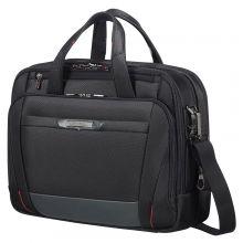 """Samsonite Pro-DLX 5 Laptop Bailhandle 15.6"""" Expandable Black"""