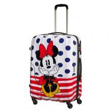 American Tourister Disney Legends Spinner 75 Minnie Blue Dots