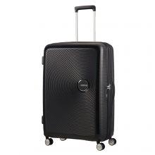 American Tourister Soundbox Spinner 77 Exp. Bass Black