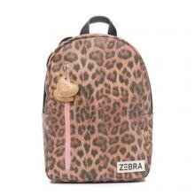 Zebra Trends Kinder Rugzak M Leo Camel Pink
