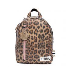 Zebra Trends Kinder Rugzak S Leo Camel Pink