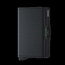 Secrid Twin Wallet Portemonnee Perforated Black