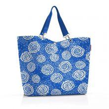 Reisenthel Shopper XL / Strandtas Batik Strong Blue