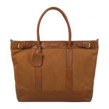 """Burkely Soul Sam Workbag 15.6"""" Cognac"""