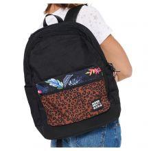 Superdry Pocket Print City Backpack Black Leopard
