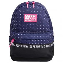 Superdry Montana Backpack Repeat Navy Dot