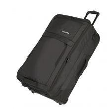 Travelite Basics Doubledecker Wheeled Duffle Black