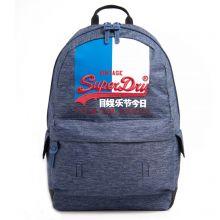 Superdry Vintage Logo Montana Backpack Dark Navy Marl