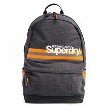 Superdry Montana Montauk Stripe Backpack Grey Black