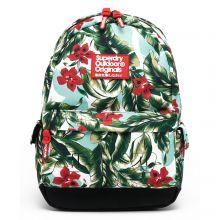 Superdry Montana Vintage Hawaiin Backpack Mint Indo Leaf