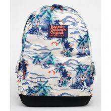 Superdry Montana Vintage Hawaiin Backpack Hula Girls Navy