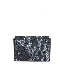 Cowboysbag X Bobbie Bodt Wallet Peridot Snake Black And White